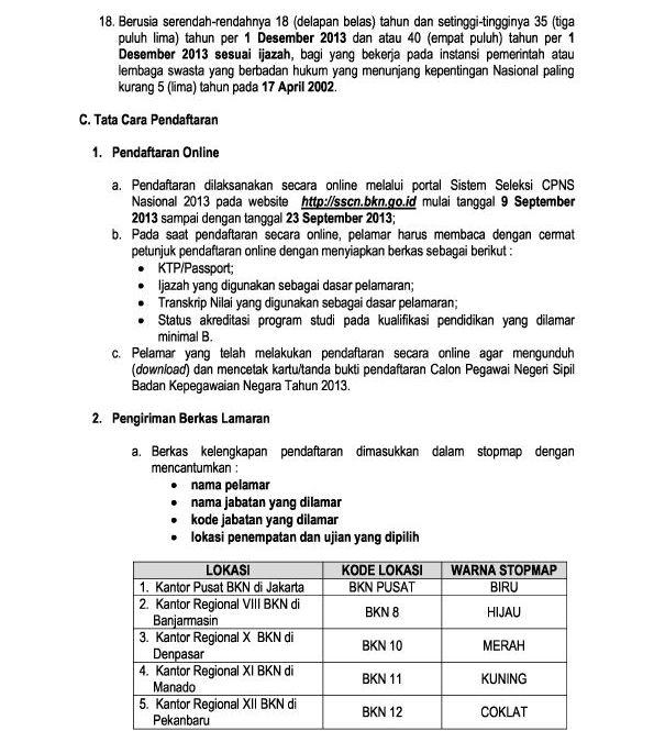 Lowongan Kerja Brebes Februari 2013 Terbaru Portal Info Lowongan Kerja Di Semarang Jawa Tengah Terbaru Pengumuman Hasil Seleksi Cpns Badan Kepegawaian Negara Bkn Auto Cars