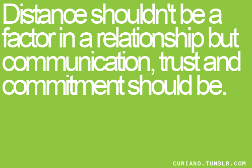 importance of communication in long distance relationship