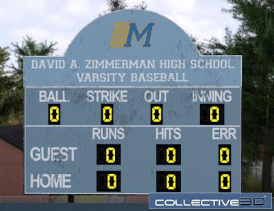 Collective3d Baseball Field