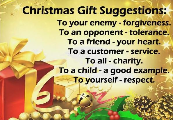 Inspirational Christmas Quotes Gifts Suggestions