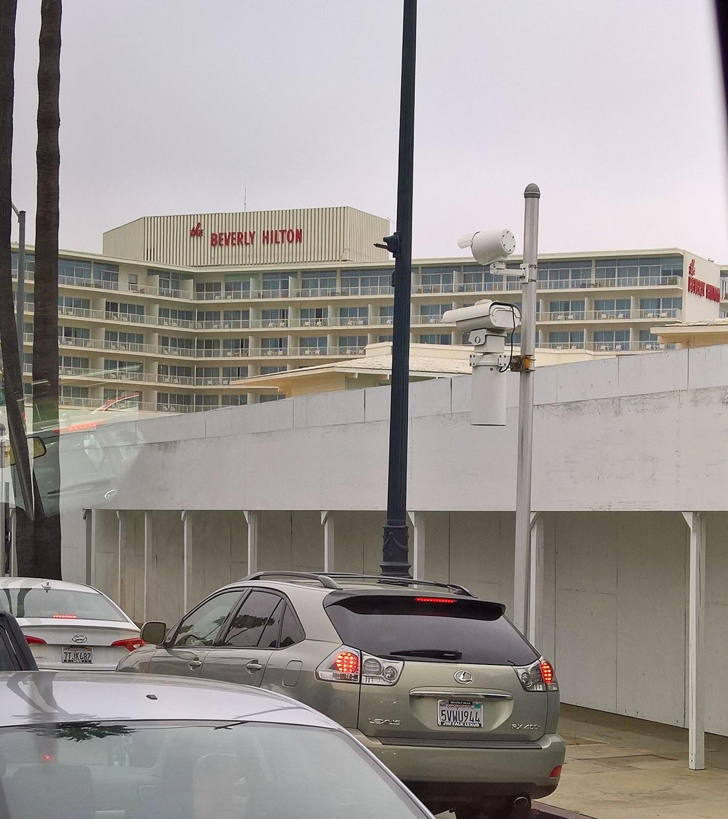 Beverly Hilton hotelli Los Angeles kiertoajelu Mallaspulla matkakertomus