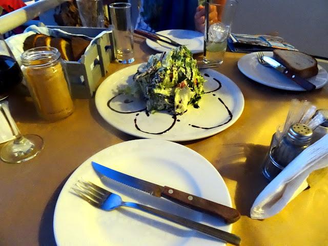 Salad starter - Rachi Taverna Lefkada