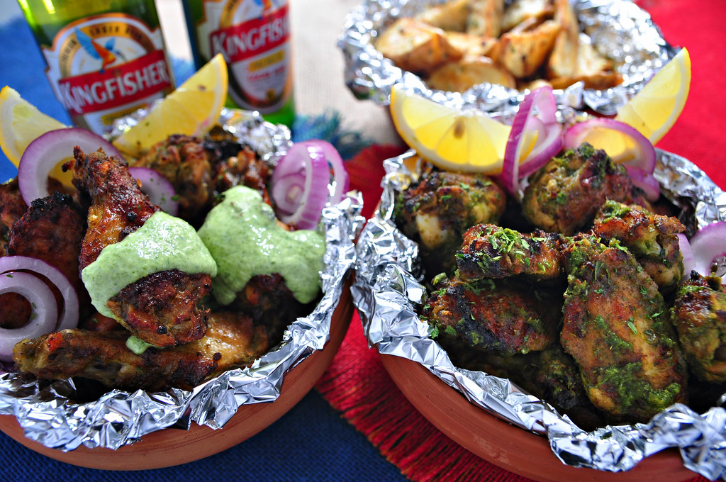 Chicken wings goan chicken cafreal inspired goan chicken cafreal forumfinder Image collections