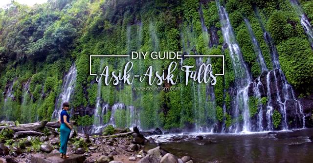 asik asik falls diy guide