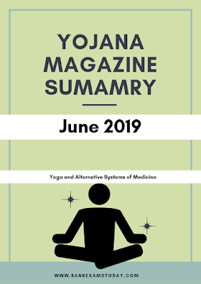 Yojana Magazine Summary: June 2019