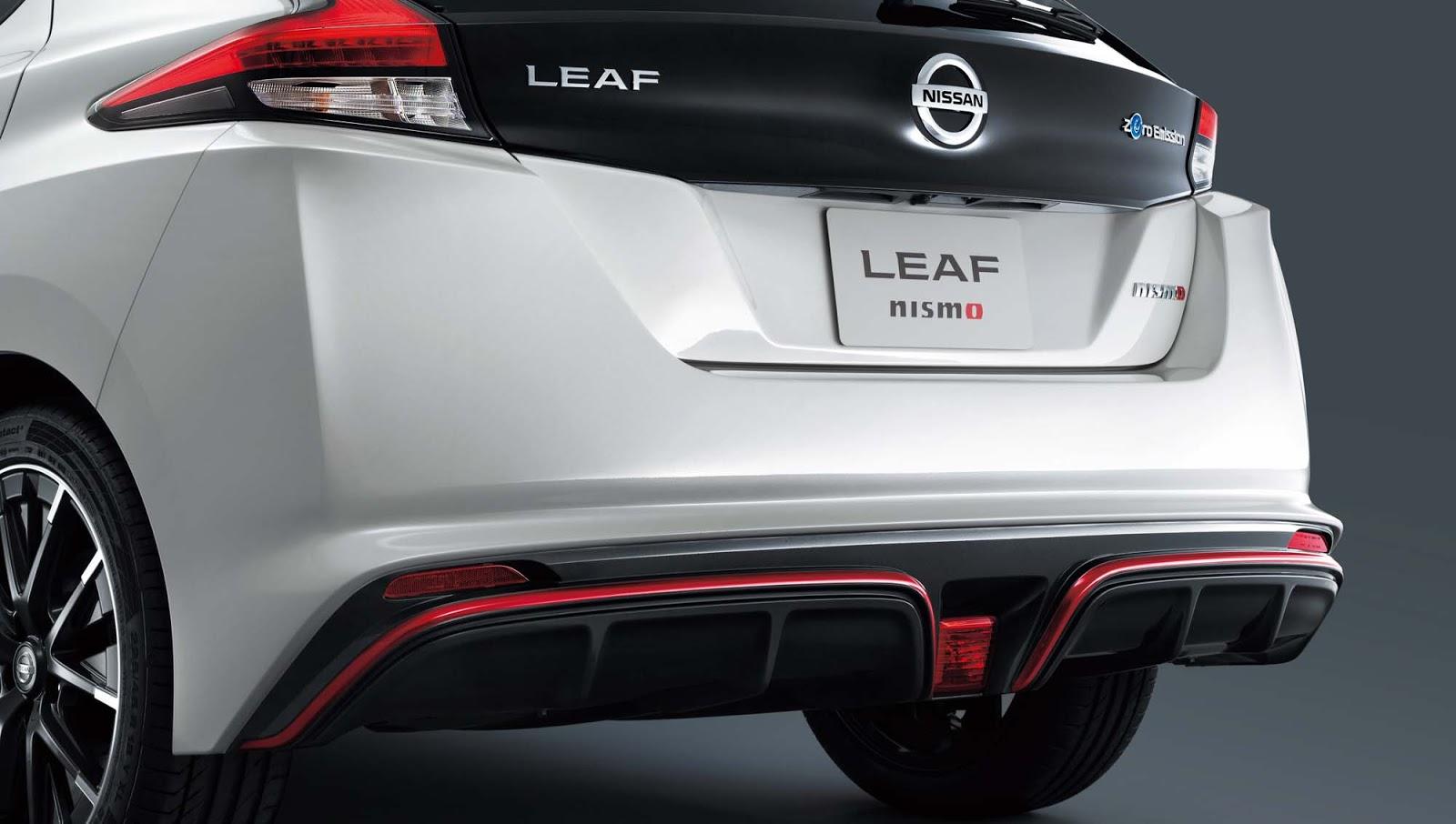 Παγκόσμιο ντεμπούτο για το Nissan LEAF NISMO