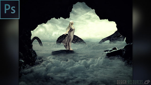 Mother Of Dragon Photo Manipulation — Photoshop Tutorial