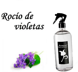 Perfume para la ropa Rocío de violetas
