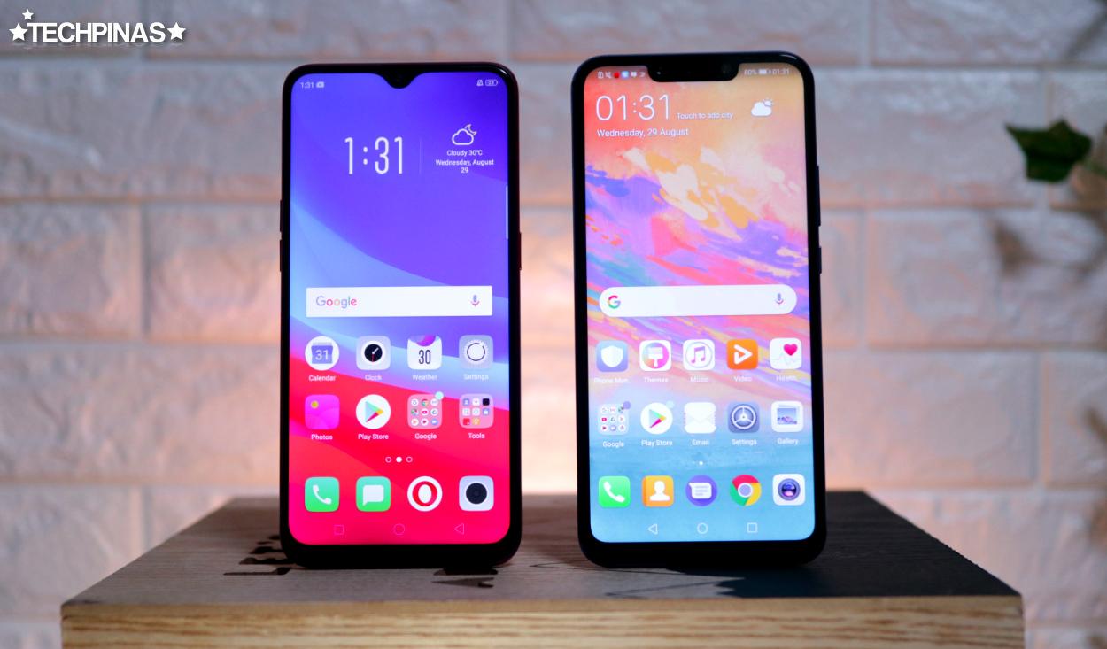 Huawei Nova 3i vs OPPO F9 Specs, Benchmark Scores, Price