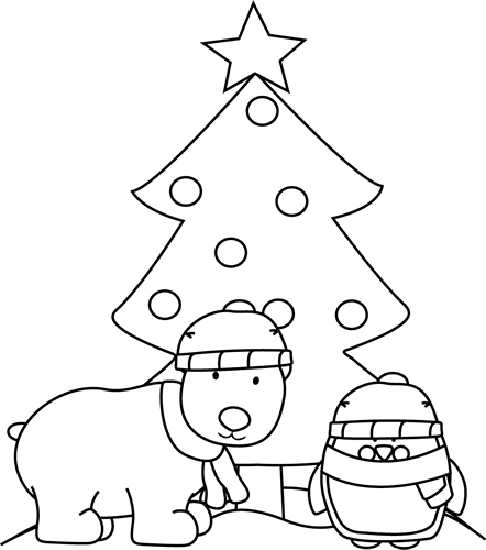 Christmas Coloring Pages : Let's Celebrate!