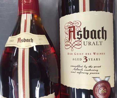 Asbach Uralt Weinbrand (German Brandy)