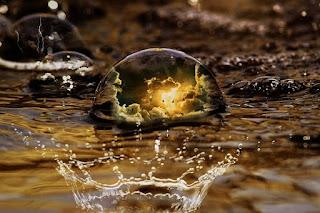 Cara sederhana menjernihkan air.