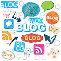 tampilan di blog