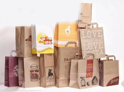 mẫu túi giấy thực phẩm đẹp
