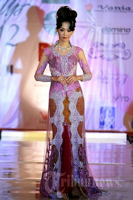 Model Baju Kebaya Untuk Fashion Show