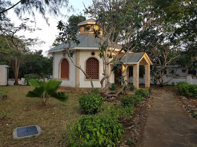 kaplica na terenie hotelu