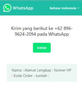 Membuat Tombol Chat WhatsApp