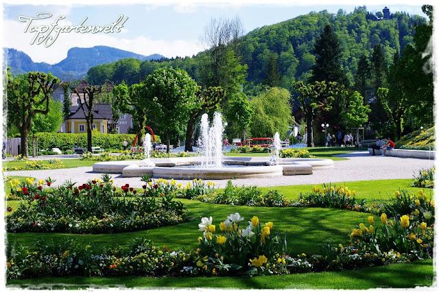 Gartenblog Topfgartenwelt Gartengestaltung: Kurpark Bad Ischl im Frühling - eine gelungene Komposition