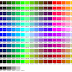 200+ Kode Warna CSS - Hexadecimal Color Chart