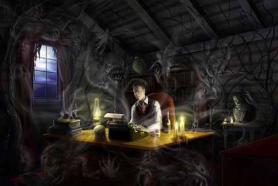 H.P. Lovecraft, by Shane Tyree