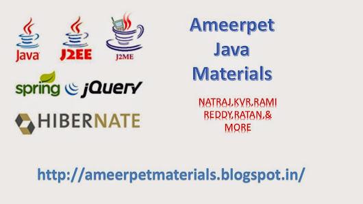 naresh technologies core java material pdf download