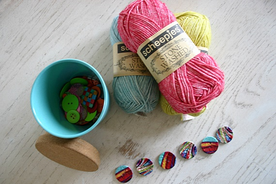Scheepjes Stonewashed Yarn Review for upcoming free cochet pattern from Felted Button