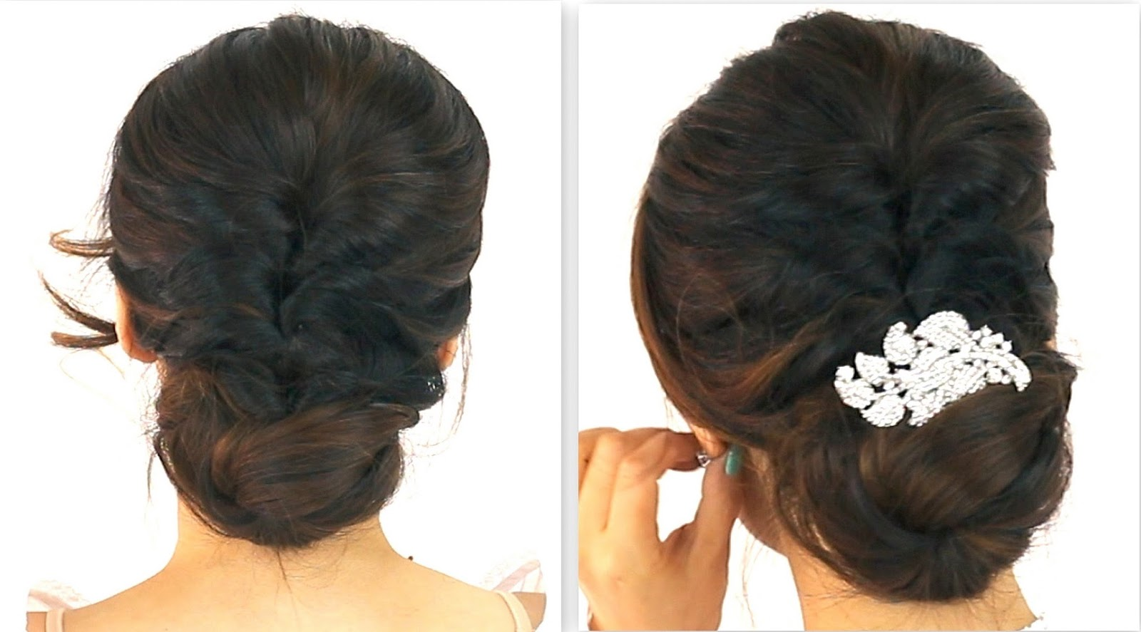 Easy Hairstyles For Long Curly Hair To Do At Home Carolin Style