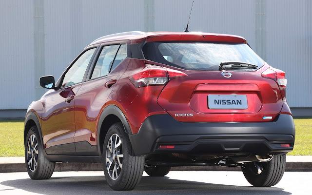 Nissan Kicks é o SUV mais vendido de março