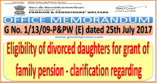 eligibility-of-divorced-daughters-for-family-pension