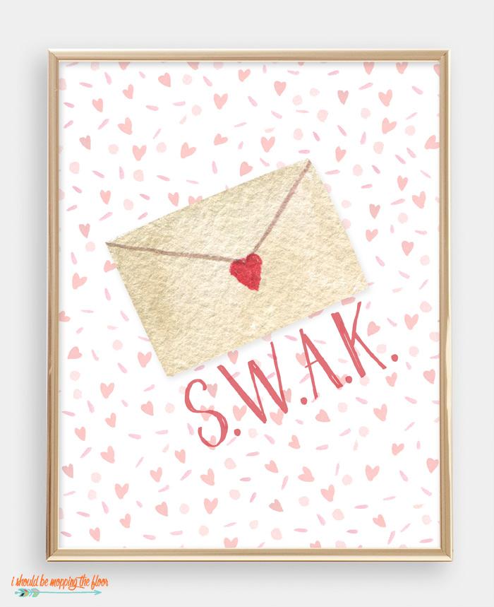 SWAK Valentine