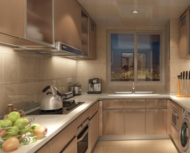Interior dapur minimalis ukuran 2x3 - Desain rumah idaman