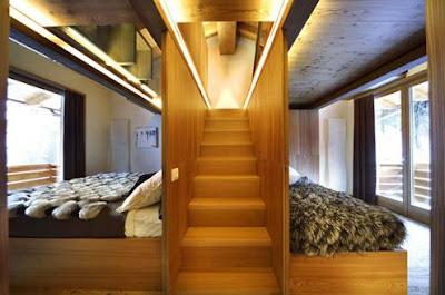 Desain Interior Rumah Kayu Modern Terbaru