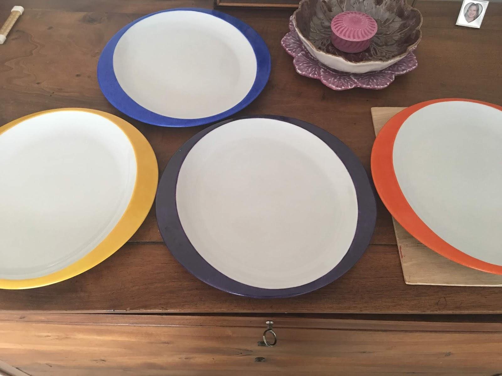 Peinture Sur Porcelaine Assiette passion, peinture et porcelaine: des assiettes modernes