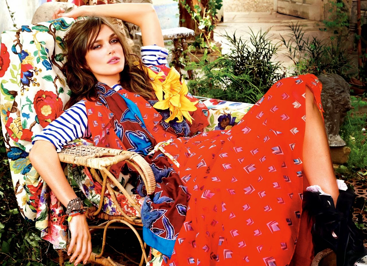 Keira Knightley - Glamour July 2014 issue