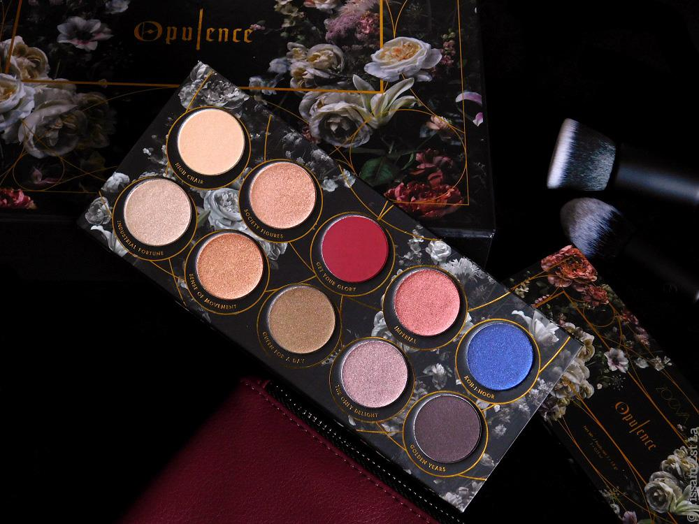 Zoeva Cosmetics | Opulence Eyeshadow Palette - Review & Swatches - Avis - Opulence Brush Set - Opulence Blush Palette