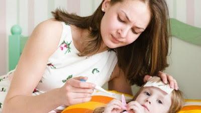 Tips Mudah Untuk Turunkan Demam Pada Anak