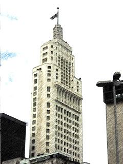 A Torre do Edifício do Banespa
