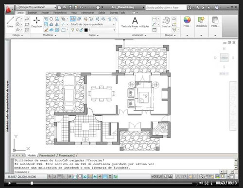... de arquitectos, se trata de enlazar un archivo simultaneamente en un