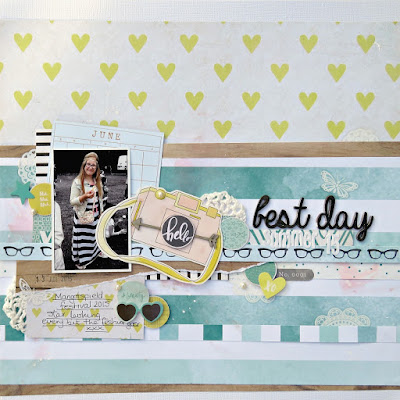 best day scrapbook layout tracee provis dear lizzy documentary papermaze  01