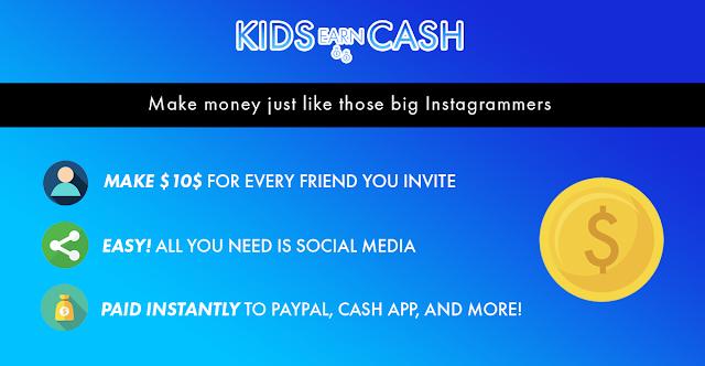 Click là có tiền - kiếm tiền kidsearncash mới nhất 2019