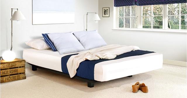 floating platform bed frame plans