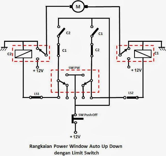 Do It Your Self: Saklar Power Window Driver Auto Up/Down