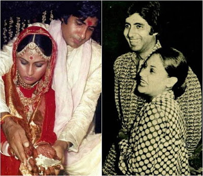 Amitabh Bachchan and Jaya
