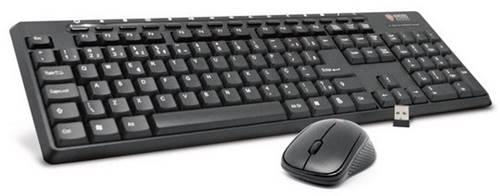 O Kit KE-KM550, da Kross Elegance, traz teclado com teclas alfa numéricas e de função e mouse com botões direito, esquerdo e scroll
