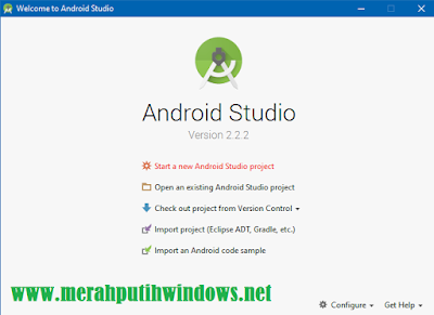 Welcom Android Studio