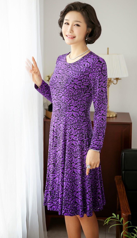 Middle-Agedolder Womens Fashion Clothing Apparel-7455