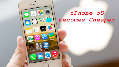 Price of iphone 5S Becomes Cheaper In India