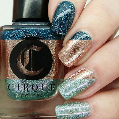 Cirque Colors Dioptase, Halcyon and Winter Bloom