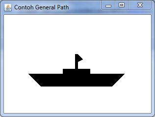 cara membuat grafik kapal unpam