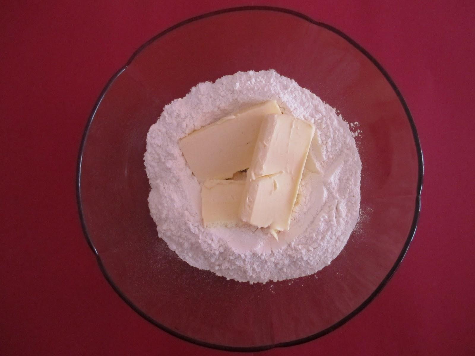 Ingrédients pour pâte brisée